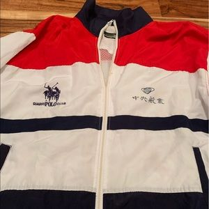 Polo windbreaker